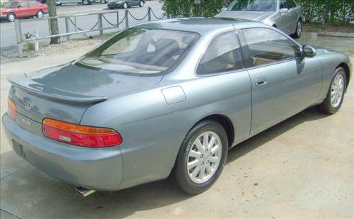 Photo Image Gallery & Touchup Paint: Lexus SC in Graphite Metallic   (182)  YEARS: 1993-1994