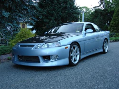 Photo Image Gallery & Touchup Paint: Lexus SC in Platinum Metallic   (1A0)  YEARS: 1995-1998