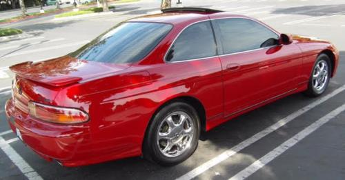 Photo Image Gallery & Touchup Paint: Lexus SC in Renaissance Red   (3L2)  YEARS: 1995-2000