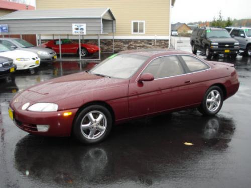 Photo Image Gallery & Touchup Paint: Lexus SC in Bordeaux Pearl   (3L4)  YEARS: 1996-1997