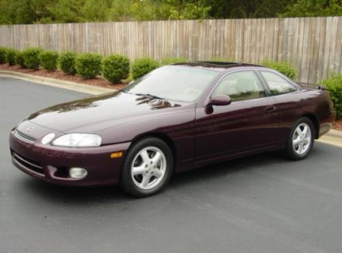 Photo Image Gallery & Touchup Paint: Lexus SC in Baroque Red Metallic  (3M9)  YEARS: 1998-1999