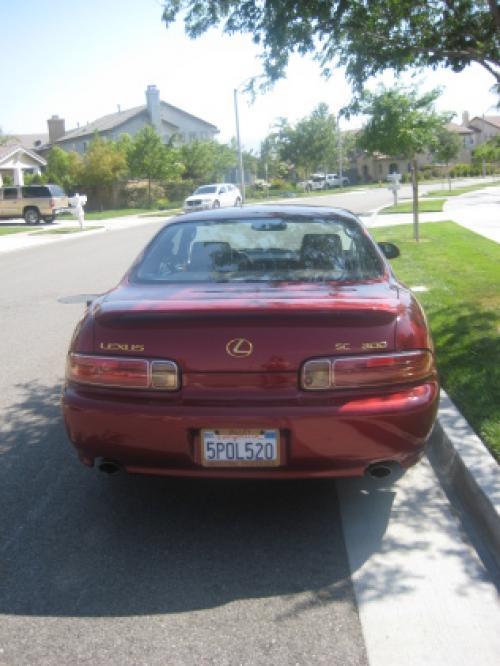 Photo Image Gallery & Touchup Paint: Lexus SC in Cinnabar Pearl   (3N1)  YEARS: 2000-2000