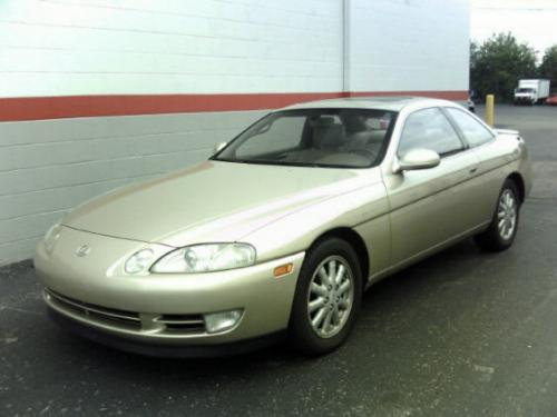 Photo Image Gallery & Touchup Paint: Lexus SC in Sandstone Beige Metallic  (4K9)  YEARS: 1992-1996