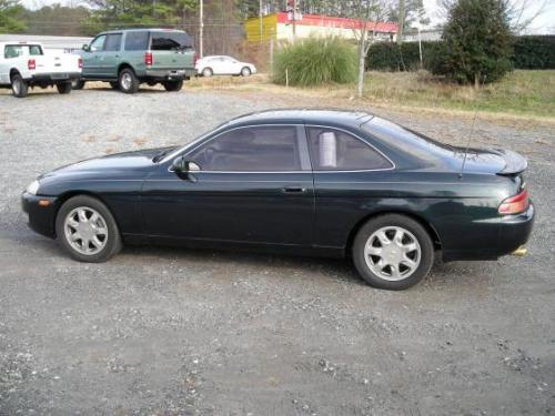 Photo Image Gallery & Touchup Paint: Lexus SC in Royal Jade Pearl  (6M2)  YEARS: 1992-1996