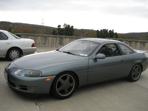 Photo Image Gallery & Touchup Paint: Lexus SC in Silver Spruce Metallic  (6M3)  YEARS: 1992-1994