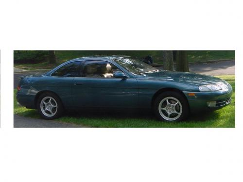 Photo Image Gallery & Touchup Paint: Lexus SC in Teal Mist Metallic  (6N1)  YEARS: 1995-1995