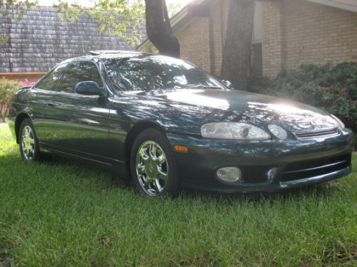 Photo Image Gallery & Touchup Paint: Lexus SC in Classic Green Pearl  (6P2)  YEARS: 1997-1997