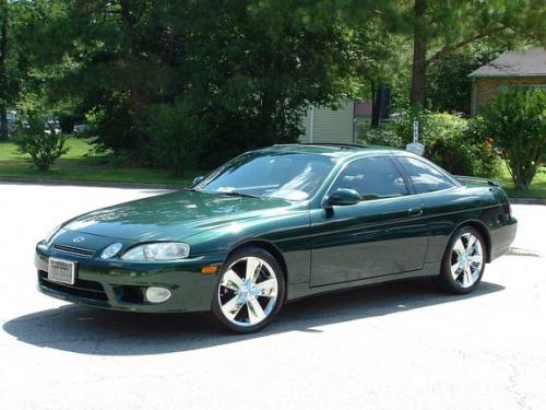 Photo Image Gallery & Touchup Paint: Lexus SC in Imperial Jade Mica  (6Q7)  YEARS: 1998-2000