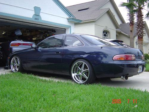 Photo Image Gallery & Touchup Paint: Lexus SC in Midnight Indigo Pearl  (8J5)  YEARS: 1992-1996