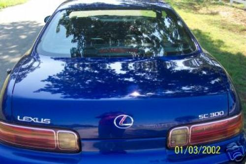 Photo Image Gallery & Touchup Paint: Lexus SC in Royal Sapphire Pearl  (8L5)  YEARS: 1997-1998