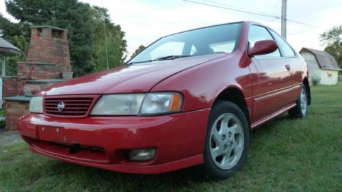 Photo Image Gallery & Touchup Paint: Nissan 200sx in Aztec Red   (AG2)  YEARS: 1995-1998