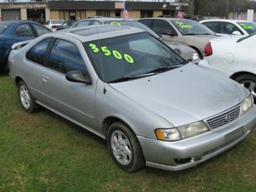 Photo Image Gallery & Touchup Paint: Nissan 200sx in Platinum Gold   (KN4)  YEARS: 1995-1998