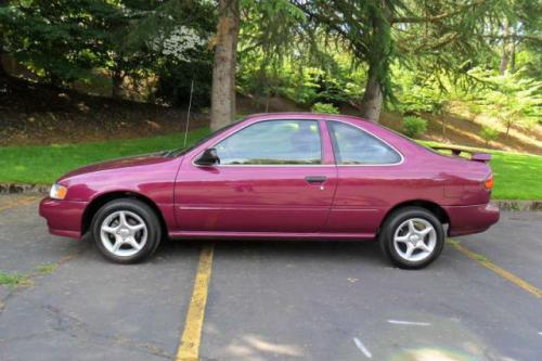 Photo Image Gallery & Touchup Paint: Nissan 200sx in Magenta    (LR0)  YEARS: 1995-1996
