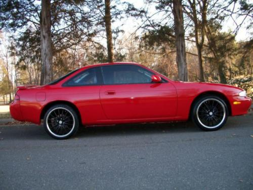Photo Image Gallery & Touchup Paint: Nissan 240sx in Ultra Red   (AJ4)  YEARS: 1995-1998