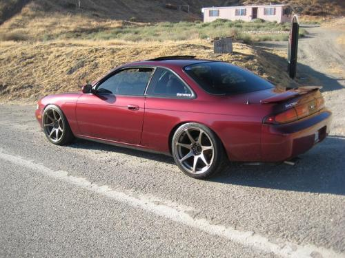 Photo Image Gallery & Touchup Paint: Nissan 240sx in Ruby Pearl   (AL0)  YEARS: 1995-1996