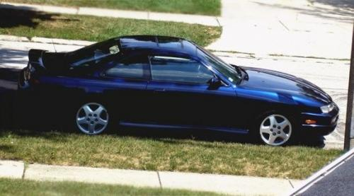 Photo Image Gallery & Touchup Paint: Nissan 240sx in Starfire Blue Pearl  (BN6)  YEARS: 1997-1998