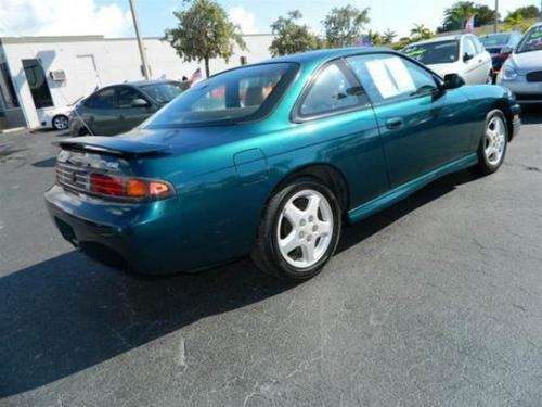 Photo Image Gallery & Touchup Paint: Nissan 240sx in Cobalt Green Pearl  (DN1)  YEARS: 1997-1998