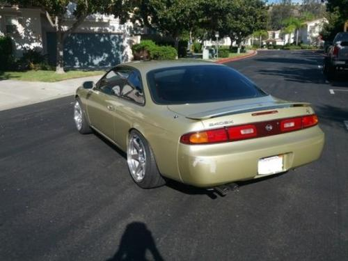 Photo Image Gallery & Touchup Paint: Nissan 240sx in Champagne Gold   (EM1)  YEARS: 1995-1996