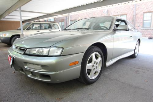 Photo Image Gallery & Touchup Paint: Nissan 240sx in Silver Moss   (KR5)  YEARS: 1997-1998
