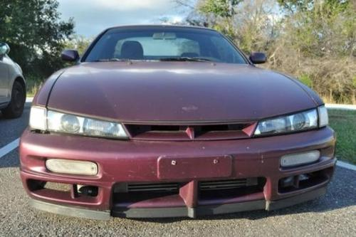 Photo Image Gallery & Touchup Paint: Nissan 240sx in Deep Fuschia   (LS1)  YEARS: 1997-1998
