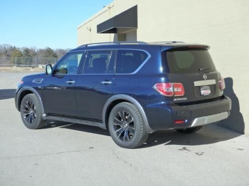 Photo Image Gallery & Touchup Paint: Nissan Armada in Hermosa Blue   (BW5)  YEARS: 2017-2018