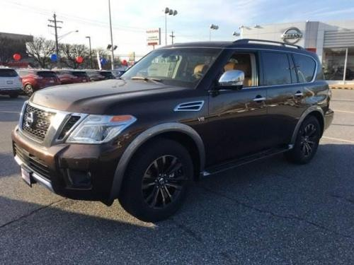 Photo Image Gallery & Touchup Paint: Nissan Armada in Mocha Almond   (CAS)  YEARS: 2017-2018