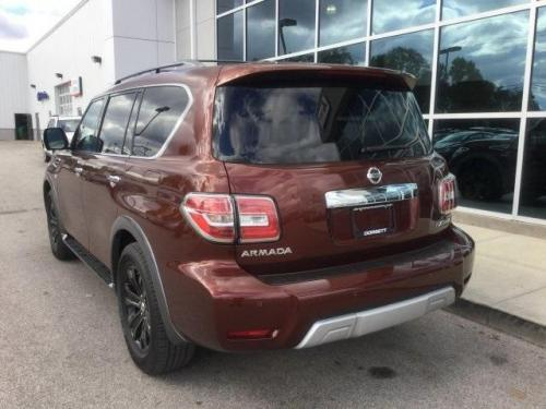 Photo Image Gallery & Touchup Paint: Nissan Armada in Forged Copper   (CAU)  YEARS: 2017-2018