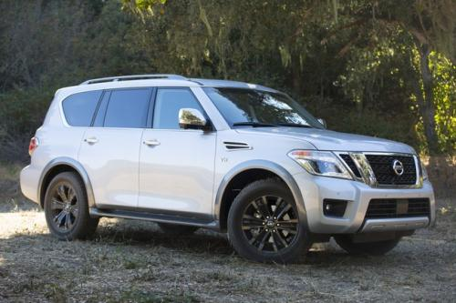 Photo Image Gallery & Touchup Paint: Nissan Armada in Brilliant Silver   (K23)  YEARS: 2017-2018