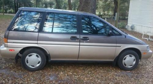 Photo Image Gallery: Nissan Axxess in Graphite Brown On Pebble (2H7)  YEARS: -