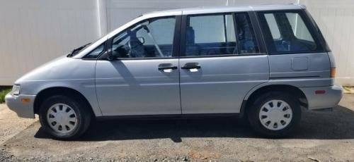Photo Image Gallery & Touchup Paint: Nissan Axxess in Silver Frost Metallic  (549)  YEARS: 1990-1990