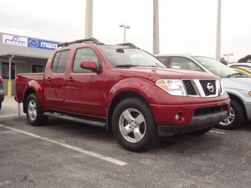 Photo Image Gallery & Touchup Paint: Nissan Frontier in Red Brawn   (A15)  YEARS: 2006-2008