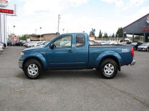 Photo Image Gallery & Touchup Paint: Nissan Frontier in Electric Blue   (BX7)  YEARS: 2005-2005