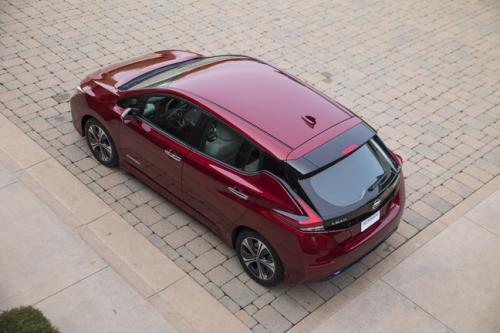 Photo Image Gallery & Touchup Paint: Nissan Leaf in Scarlet Ember   (NBL)  YEARS: 2018-2018