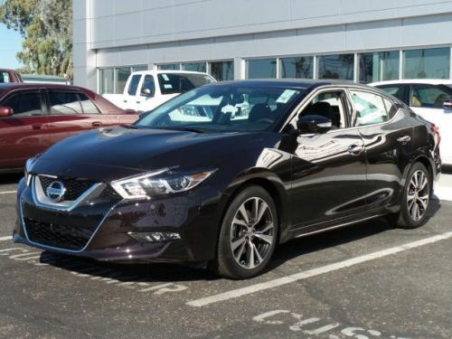 Photo Image Gallery & Touchup Paint: Nissan Maxima in Bordeaux Black   (GAB)  YEARS: 2016-2017