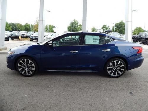 Photo Image Gallery & Touchup Paint: Nissan Maxima in Deep Blue Pearl  (RAY)  YEARS: 2016-2018