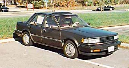 Photo Image Gallery & Touchup Paint: Nissan Maxima in Dark Pewter Metallic  (218)  YEARS: 1985-1986