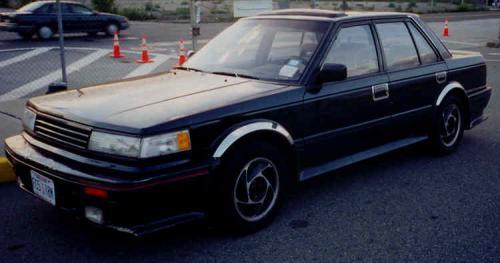 Photo Image Gallery & Touchup Paint: Nissan Maxima in Dark Blue Metallic  (232)  YEARS: 1985-1986