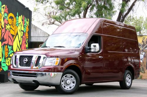 Photo Image Gallery & Touchup Paint: Nissan NV in Tuscan Sun   (NAD)  YEARS: 2012-2012