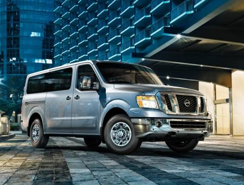 Photo Image Gallery & Touchup Paint: Nissan NV in Brilliant Silver   (NAG)  YEARS: 2012-2018