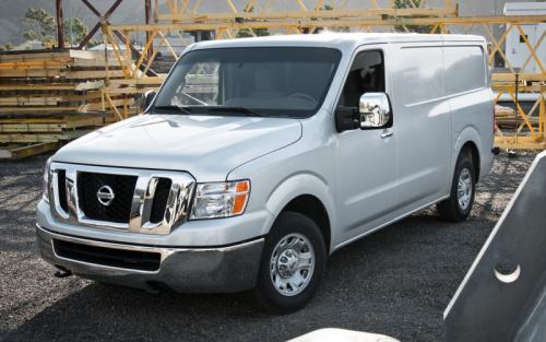 Photo Image Gallery & Touchup Paint: Nissan NV in Blizzard    (Q10)  YEARS: 2012-2012