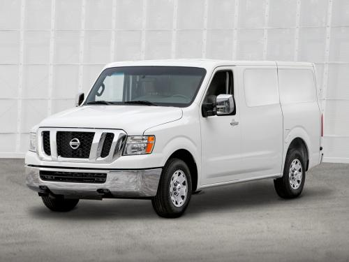 Photo Image Gallery & Touchup Paint: Nissan NV in Glacier White   (QAK)  YEARS: 2013-2018