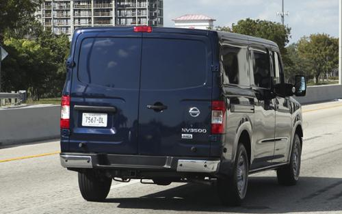 Photo Image Gallery & Touchup Paint: Nissan NV in Navy Blue   (RAB)  YEARS: 2012-2012