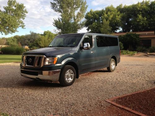 Photo Image Gallery & Touchup Paint: Nissan NV in Graphite Blue   (RAQ)  YEARS: 2013-2014