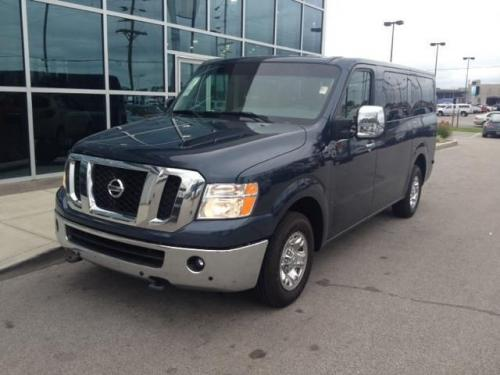 Photo Image Gallery & Touchup Paint: Nissan NV in Arctic Blue Metallic  (RBG)  YEARS: 2015-2018