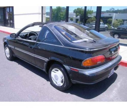Photo Image Gallery & Touchup Paint: Nissan NX in Super Black   (KH3)  YEARS: 1991-1993