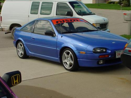 Photo Image Gallery & Touchup Paint: Nissan NX in Electric Blue   (TJ4)  YEARS: 1993-1993