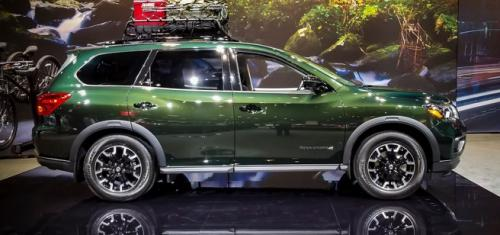 Photo Image Gallery & Touchup Paint: Nissan Pathfinder in Midnight Pine   (DAL)  YEARS: 2018-2018