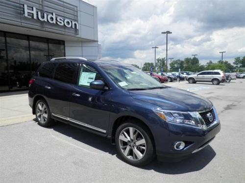 Photo Image Gallery & Touchup Paint: Nissan Pathfinder in Arctic Blue Metallic  (RBG)  YEARS: 2013-2016