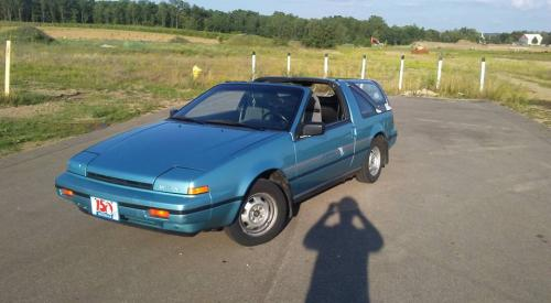 Photo Image Gallery & Touchup Paint: Nissan Pulsar in Turquoise Blue Metallic  (TH7)  YEARS: 1989-1989