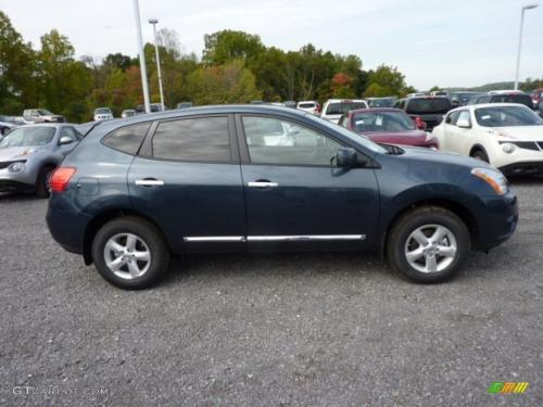 Photo Image Gallery & Touchup Paint: Nissan Rogue in Graphite Blue   (RAQ)  YEARS: 2012-2015